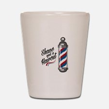 Shave & Haircut Shot Glass