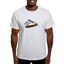 Barber Razor T-Shirt