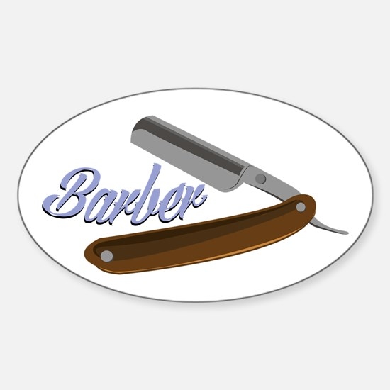 Barber Shave Decal