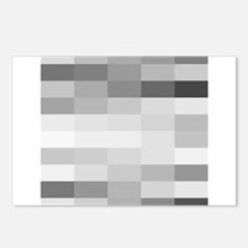 shades of gray Postcards (Package of 8)