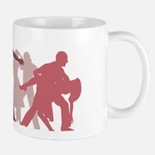 Latin Dancers Illustration Mugs