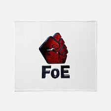 Unique Logos Throw Blanket