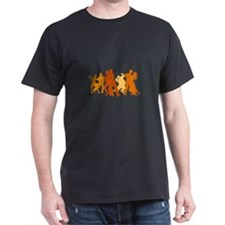 Tango Dancers Illustration T-Shirt