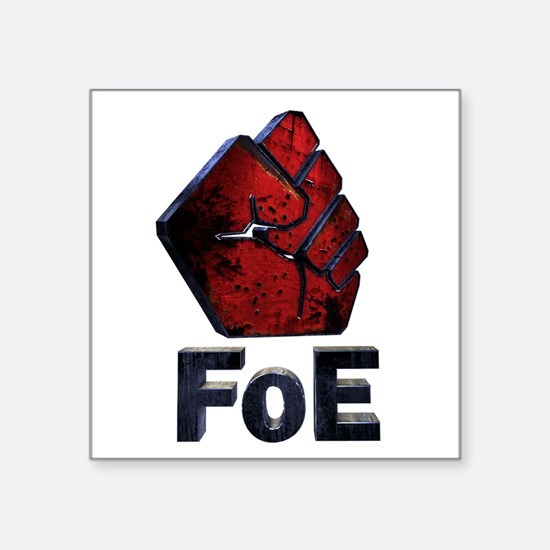 New FoE Logo (Distressed) Sticker