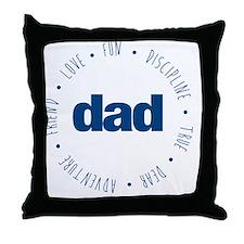 ADJECTIVES Throw Pillow