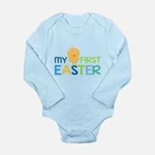 My First Easter Chick Boys Body Suit