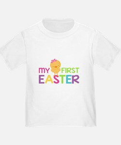 My First Easter Chick Girls T-Shirt