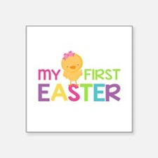 My First Easter Chick Girls Sticker