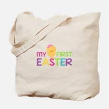 My First Easter Chick Girls Tote Bag