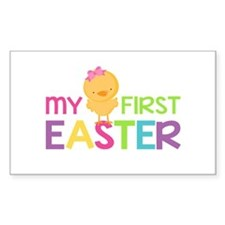 My First Easter Chick Girls Decal