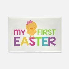 My First Easter Chick Girls Magnets