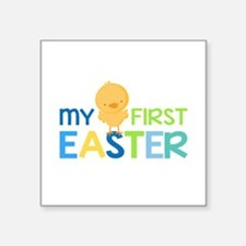 My First Easter Chick Boys Sticker