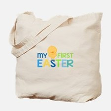 My First Easter Chick Boys Tote Bag