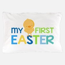My First Easter Chick Boys Pillow Case