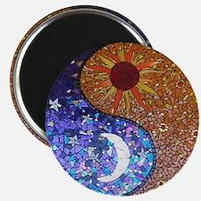 Mosaic Sun & Moon Magnet