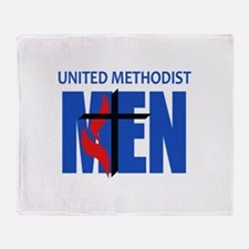 METHODIST MEN Throw Blanket