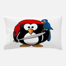 Pirate Penguin Pillow Case