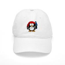 Pirate Penguin Baseball Cap