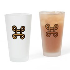 ADINKRA PEACEMAKING Drinking Glass