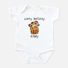 Happy Birthday Randy (tiger) Infant Bodysuit