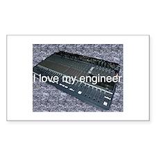 I love my engineer Decal