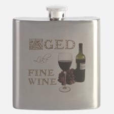 Aged Like Fine Wine Flask