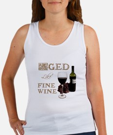 Aged Like Fine Wine Women's Tank Top