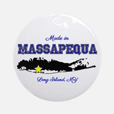 Made In Massapequa Ornament (round)