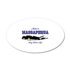 Made in Massapequa Wall Decal