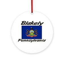 Blakely Pennsylvania Ornament (Round)