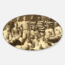 Michigan Wolverines 1888 Decal