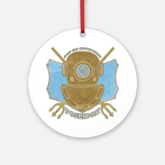 Poseidon Adventures Ornament (Round)