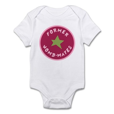 FORMER WOMBMATES Infant Bodysuit