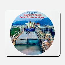 Island Princess- Canal Cruise Amigos- Mousepad