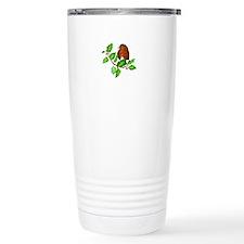 Robin Bird, Robin Redbr Travel Mug