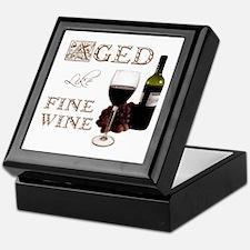 Aged Like Fine Wine Keepsake Box