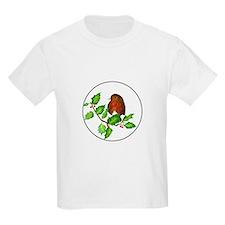 Robin Bird, Robin Redbreast, Watercolour P T-Shirt