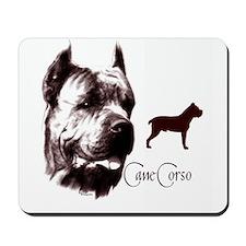 cane corso dog Mousepad