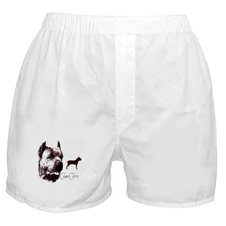 cane corso dog Boxer Shorts