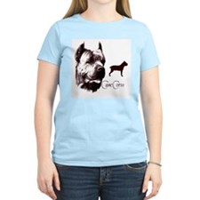 cane corso dog Women's Pink T-Shirt