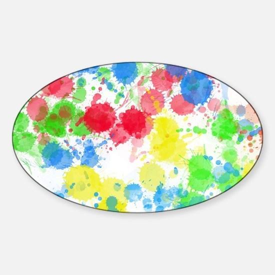watercolor splatter Decal