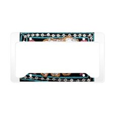 Cute Indian elephants License Plate Holder