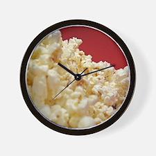 Cute Popcorn Wall Clock
