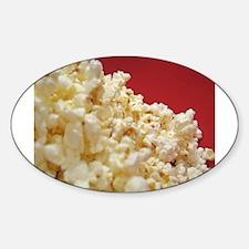 Unique Popcorn Sticker (Oval)