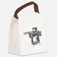 Cute The sewing machine Canvas Lunch Bag