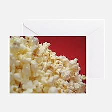 Cute Popcorn Greeting Card