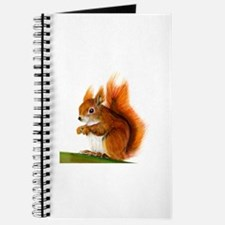 European Red Squirrel Sciurus vulgaris Wat Journal