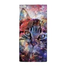 SpaceCat Beach Towel