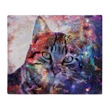 SpaceCat Throw Blanket