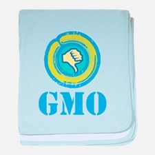 Down With GMO baby blanket
